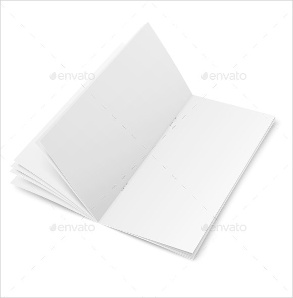 sample blank brochure
