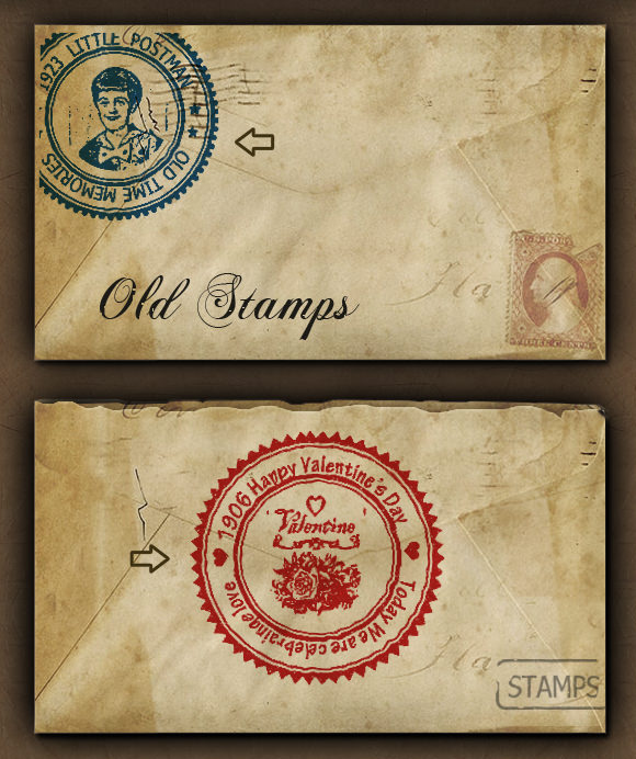 stamp template photoshop