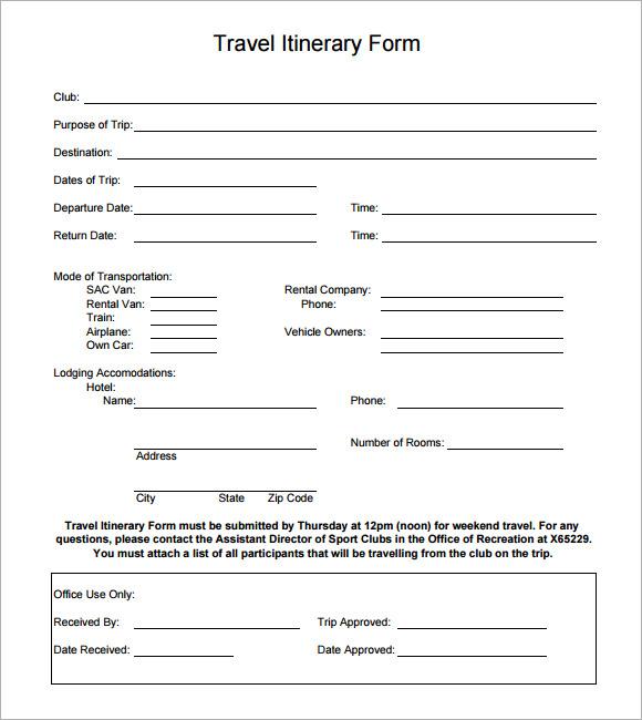 Family vacation itinerary template maxwellsz