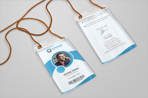 microsoft word id card template