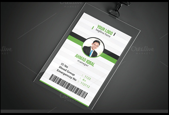 Id Card Template 19 Download In Psd Pdf Word