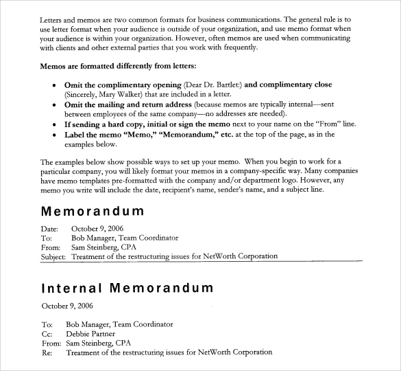 Doc585650 Professional Memorandum Template Professional Memo – Professional Memo Format Template