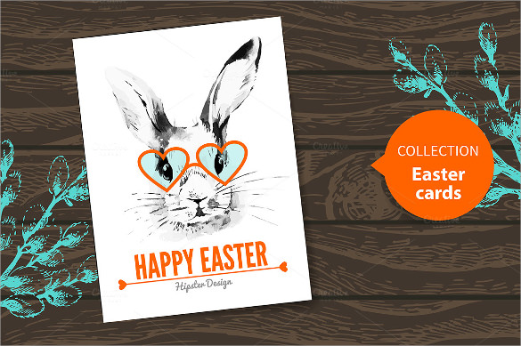 Easter Card Template 20 Download Documents in PSD Vector – Sample Easter Postcard Template