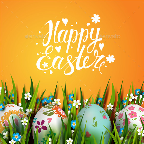 Easter Card Template 20 Download Documents in PSD Vector – Easter Card Template