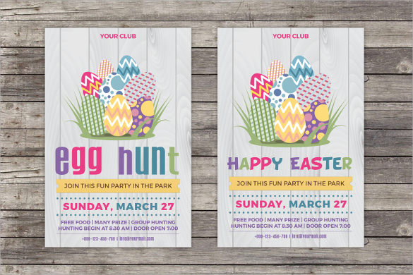 Easter Card Template   Download Documents In Psd  Vector
