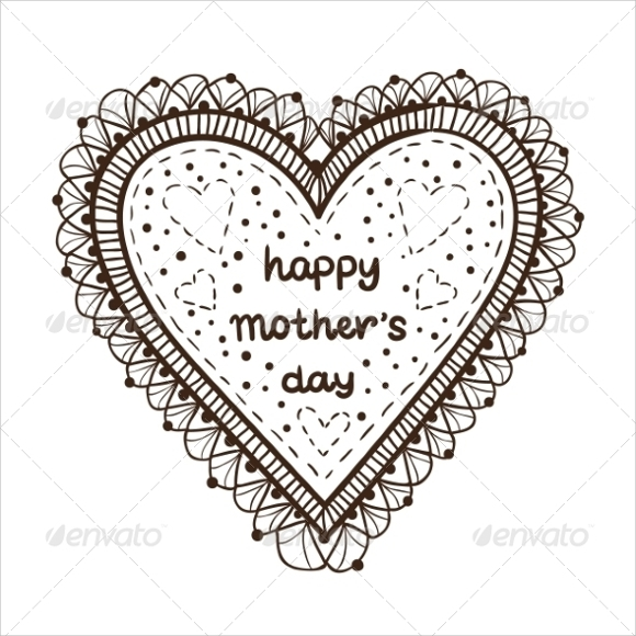 example of mothers day card template