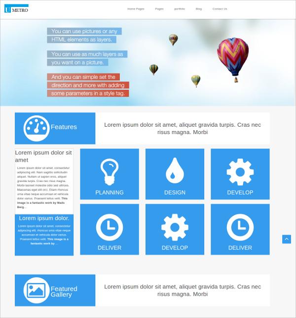 MultiPurposeTimelineWebsiteTemplatejpg - Timeline website template