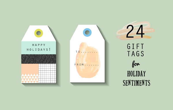 gift tag template publisher