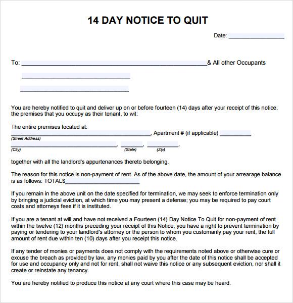 Quit Letter Samples 25.04.2017