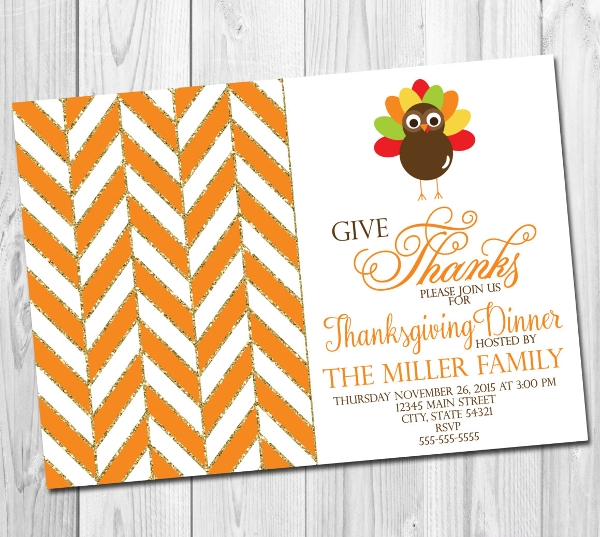 thankful turkey party template1