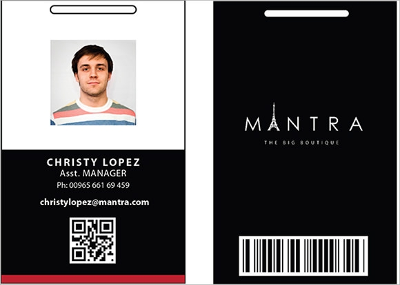 Sample Id Cards Templates  CityEsporaCo