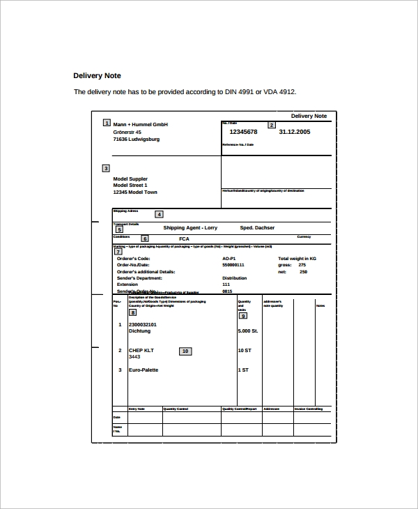 Delivery Order Form Template  Sample Catering Order Forms