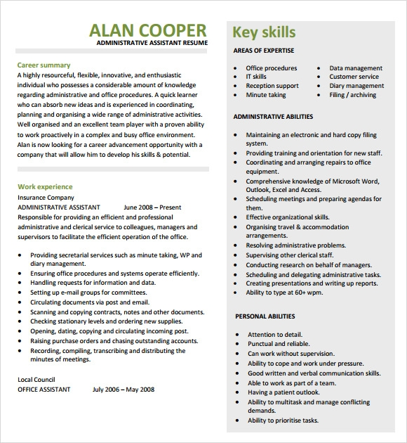 administrative assistant cover letter 2015 Administrative assistant cover letter use this sample administrative assistant cover letter to help you write your own winning letter send a cover letter with your resume and get the reader's attention and interest make sure that your job application gets the consideration it deserves the cover letter is one of the most.