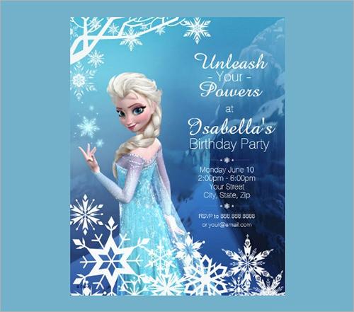 birthday party invitation template1