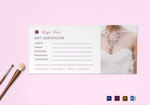 Photography Gift Certificate Template 12 Download Documents In