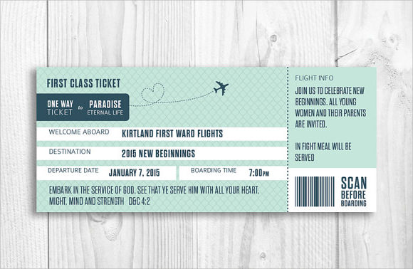 Boarding Pass Template - 9+ Download Documents in PDF , PSD , Vector