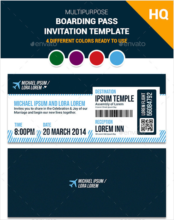 boarding pass template photoshop