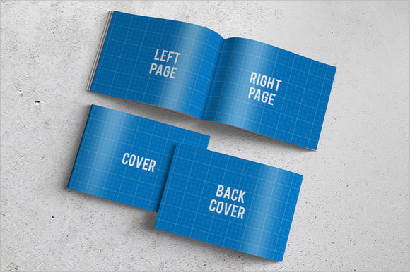 6 Sample Booklets Psd Vector Eps .  Booklet Template