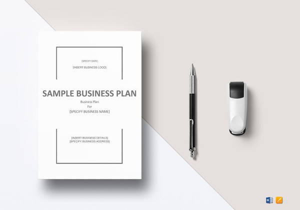 Sample Sba Business Plan Template   Free Documents In Pdf Word