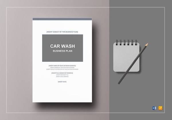 11 car wash business plan templates sample templates car wash business plan template flashek Images