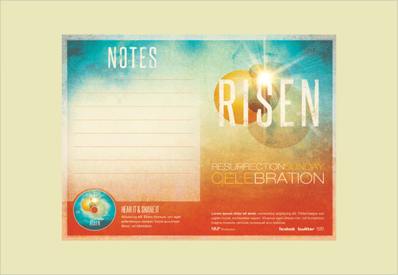 church bulletin bifold brochure sermon notes template for church – Church Bylaws Template