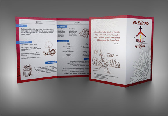 9 Church Bulletin Templates Download Documents in PSD PDF – Church Bulletin Template