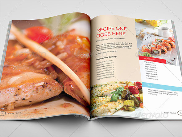 Cookbook Template | 10 Cookbook Samples Sample Templates