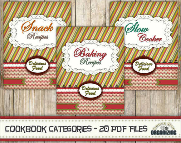 Sample Cookbook - 9+ Documents in PSD
