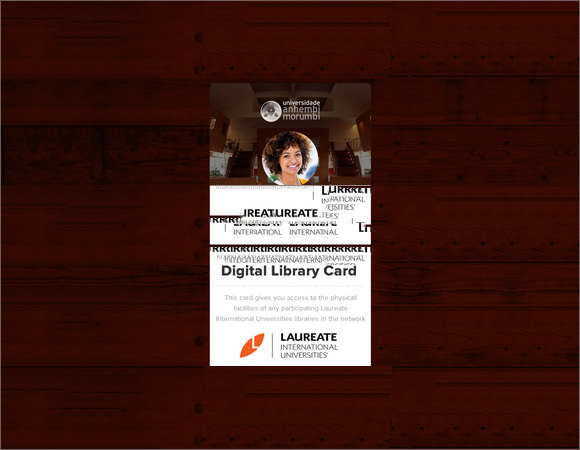 digital library card template
