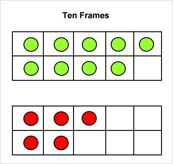 6+ Ten Frame Samples | Sample Templates