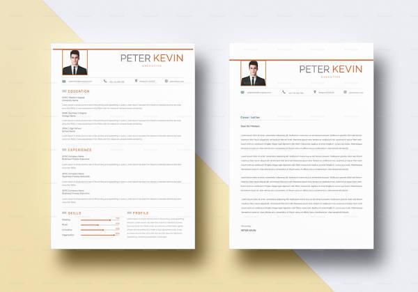 editable bpo executive resume template