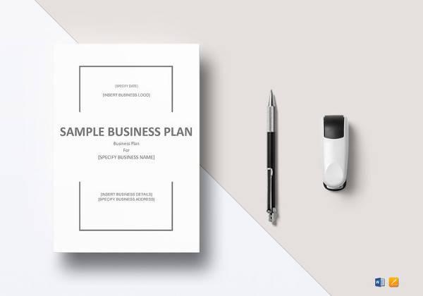 editable business plan