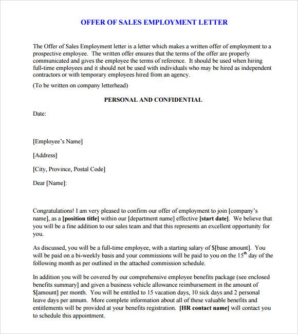 Employment Separation Letter 59