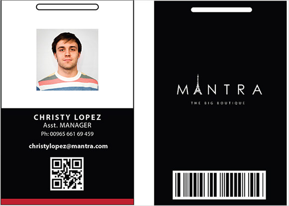 Fake Id Card Template