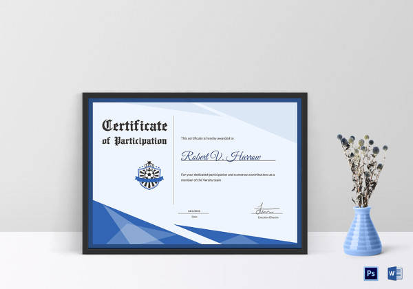 Football Certificate Template - 16+ Download Documents in