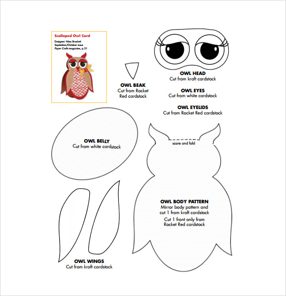 Sample Owl Template   Documents In Pdf Psd Vector