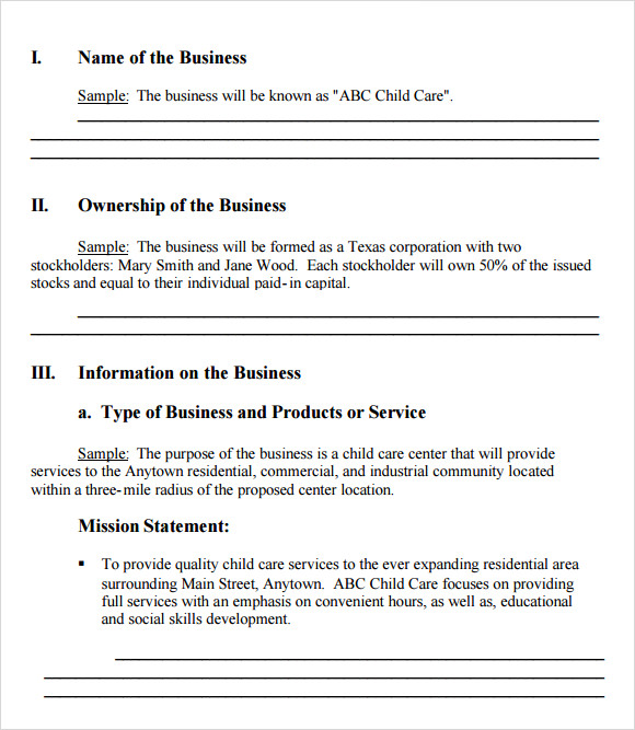 21 simple business plan templates sample templates free simple business plan template accmission