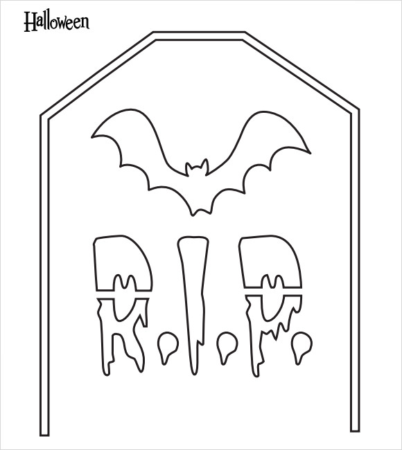 halloween bat template kids