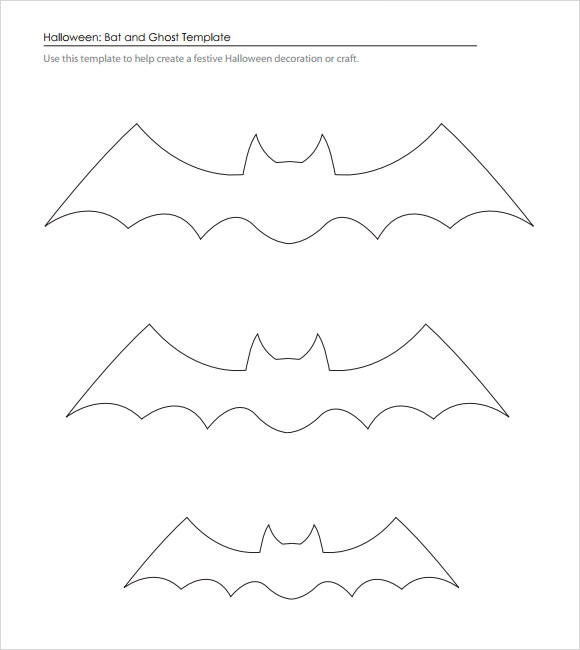 photo about Bat Outline Printable named Free of charge 14+ Pattern Bat Templates inside Term PDF