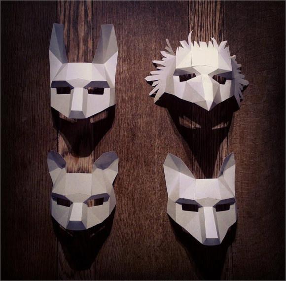 halloween masks template9