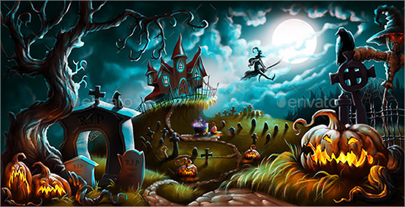 Halloween Templates  Download Documents In Psd