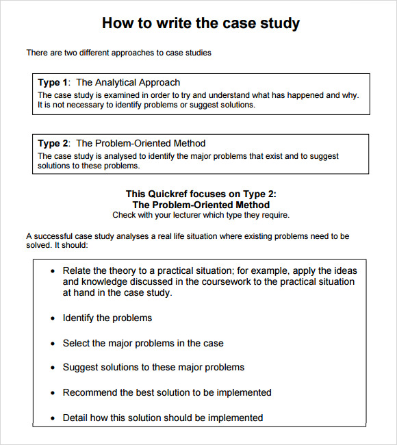 template for writing a case study - 7 sample case study templates to download sample templates