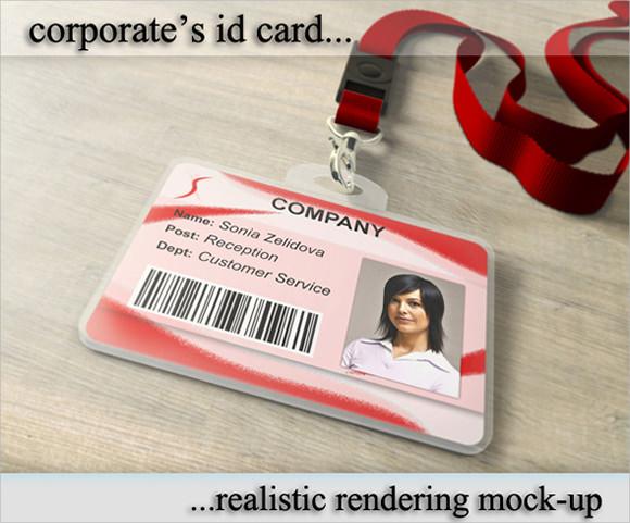 Sample Id Card Template