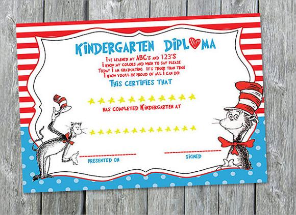 Sample graduation certificate template preschool certificate templates download documents in pdf word yadclub Images