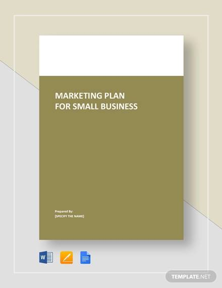 Free How To Write A Marketing Plan For A Business With Samples