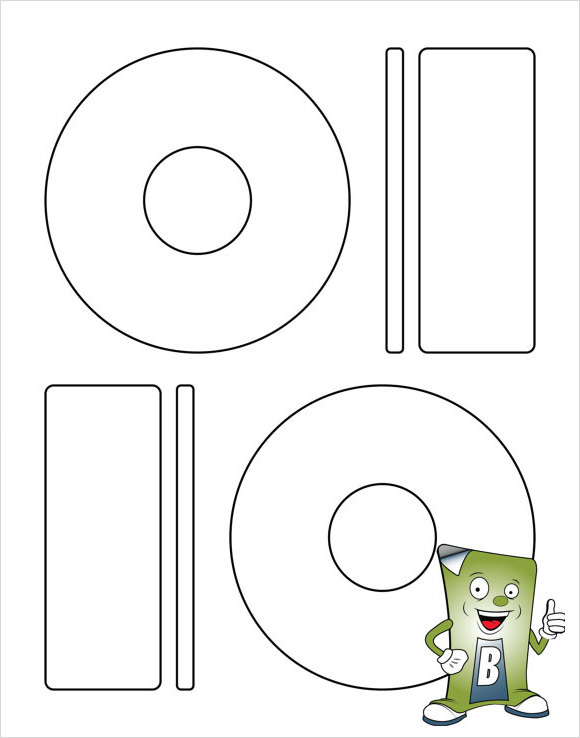 Memorex CD Label Template   8  Download Free Documents in PDF PSD JEF4POfy