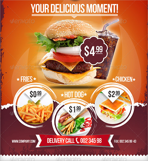 Menu Design Template Free Lunch Menu Design Template Lunch Menu