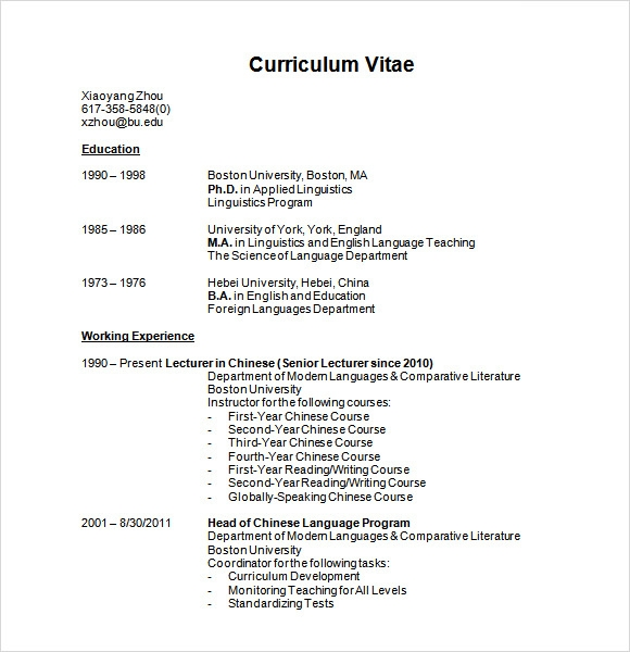 Modern Resume Templates - Download Documents in PDF , Word , PSD ...