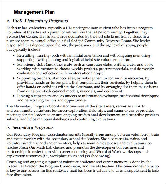 marketing plan sample non profit 7 marketing plan sample non profit ...