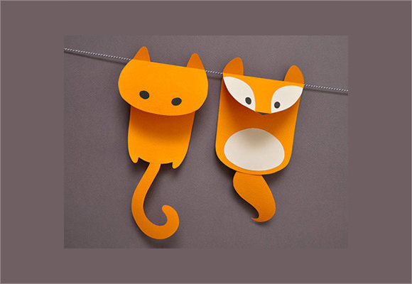 Paper Craft Template   Download Documents In Psd